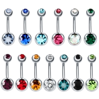 1PC Surgical Steel Belly Piercings Navel Piercing Sexy Piercing Ombligo Ear Piercings Navel Earring Gold  Body Jewelry Pircings