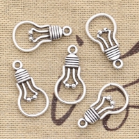 20pcs Charms light bulb 21x11mm Antique Making pendant fit,Vintage Tibetan Silver Bronze,DIY Handmade Jewelry