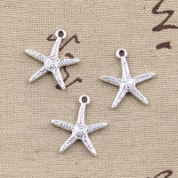 10pcs Charms Starfish 20x18mm Antique Making Pendant fit,Vintage Tibetan Silver color,DIY Handmade Jewelry