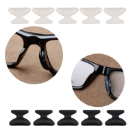 COLOUR_MAX 6Pairs Anti Slip Silicone Nose Pad For Glasses Eyeglasses Sunglass