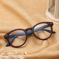 J N  Fashion Colors Unbreakable Reading Glasses Women Men Ultralight Anti Fatigue Flower Temple Presbyopic Magnifier TL18157