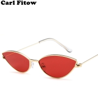 Cute Sexy Ladies Cat Eye Sunglasses Women Metal Frame 2020 Fashion Vintage Gradient Sun Glasses For Female UV400 Shades