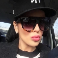 DJXFZLO 2020 Gafas Fashion Women Sunglasses Brand Designer Luxury Vintage Sun glasses Big Full Frame Eyewear Women Glasses