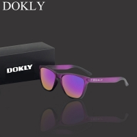 Dokly Real Polaroized Sunglasses Men and women polarized sunglasses Square Sun Glasses eyewear Oculos De Sol