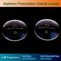 1.56 Digital Free-form Progressive Aspheric Optical Eyeglasses Prescription Lenses