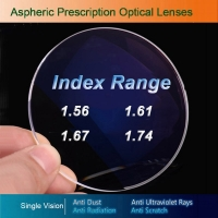 Single Vision Optical Glasses Prescription Lenses for Myopia/Hyperopia/Presbyopia Eyeglasses CR-39 Resin Lens With Coating