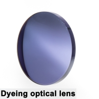 A Pair Of Optical Tinted Lens Dyed Myopia Presbyopia Aspheric Prescription Scratch-resistant 1.56 1.61 1.67 Index