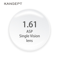 KANSEPT 1.61 Index Prescription Lenses CR-39 Resin Aspheric Glasses Lenses for Myopia/Hyperopia/Presbyopia Eyeglasses