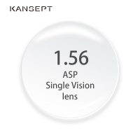 KANSEPT 1.56 Index Prescription Eye Glasses Myopia Brand Lens Clear Glasses Hard Scratch Resistant Aspheric Optical Lenses