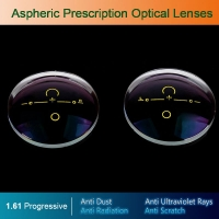 1.61 Digital Free-form Progressive Aspheric Optical Eyeglasses Prescription Eyewear Optical Lenses