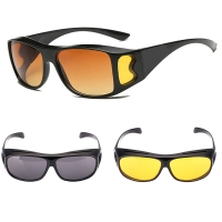 Night Vision Driver Goggles Unisex Vision Sun Glasses Car Driving Glasses UV Protection Polarized Sunglasses Eyewear