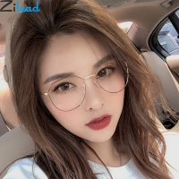 Zilead Polygon Metal Anti Blue Light Blocking Glasses Frame Men&Women Computer Games Goggles Eyeglasses Optical Spectacle Frame