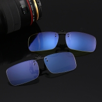Unisex Anti blue Ray Clip On Glasses Near-Sighted Myopia Night Vision Lens Computer Gaming Blue light blocking Eyeglasses L3
