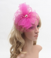 women fascinator cocktail hat for weddings or daily and party girls hair accessories with headband &clip