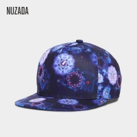 Brand NUZADA Printing Men Women Couple Hip Hop Cap Cute Classic Animal Polyester Cotton Personality Spring Summer