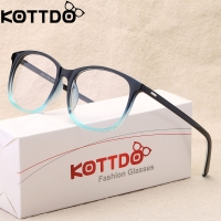 KOTTDO 2018 Women Retro Myopia Eyeglasses Frame Female Eye Glasses Vintage Optical Glasses Prescription Transparent Frame