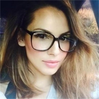 Retro Glasses Transparent Square Optical EyeGlasses Frames Women Brand Designer Clear Fashion Fake Glasses Large Frames Eyewear