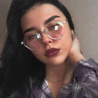 2019 Eyeglasses Frame Women Transparent Round Glasses Clear Frame Spectacle Myopia Glasses Men Frame Nerd Optical Frames Black