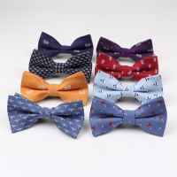 Children Man Fashion Polyester Bow Tie Kid Classical Bowties Umbrella Car Fish Aircraft Bicycle Butterfly Party Pet Bowtie Ties