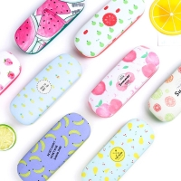 Protable Fruit Sunglasses Hard Eye Glasses Case Eyewear Protector Box Pouch Bag candy color holder F05