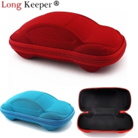 Long Keeper 2020 Children Car Shaped Glasses Case Cute Glasses Strage Bag Box Cases Kids Sunglasses Cases Automobile Styling Box