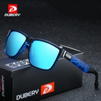 DUBERY Brand Design Polarized Sunglasses Men Driver Shades Male Vintage Sun Glasses For Men Spuare Mirror Summer UV400 Oculos