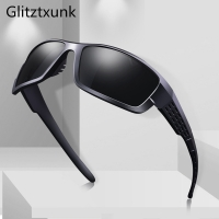 Glitztxunk 2020 Polarized Sunglasses Men Vintage Square Brand Male Sun Glasses For Men Driving Goggle UV400 Okulary Gafas de sol
