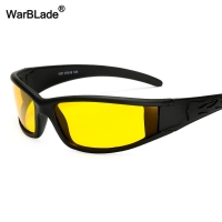 WarBLade Hot Sale Night Vision Driving Sun Glasses Men's Yellow Polarized Sunglasses Safety Car Drivers Goggles Eyewear For Man
