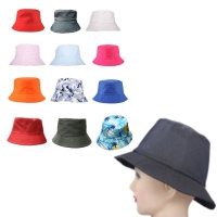 Fashion Outdoor Bucket Hat Simple Visor Fishing Summer Cotton Hunting Men Women Travel Boonie Holiday Camping Cap Unisex