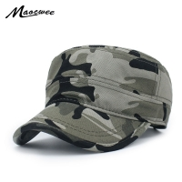 Men Women Fashion Hat Military camouflage Special Forces Mask the USSR Cadet Hat Cap Gorras Militares Boina Sailor Bone Gorro