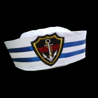 Unisex Sailors Ship Boat Captain Military Hat Navy Marine Skipper Ship Cap Costume Adults Party Fancy Dress for Adults and Kids