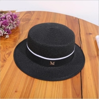 Women Summer Beach Sun Cap 2018 New Brand Flat Top Straw Hat Men Boater Hats Bone Feminino