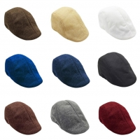 snowshine4 # 5001 2018 New Men Summer Visor Hat Sunhat Mesh Running Sport Casual Breathable Beret Flat Cap 9 Color Free Shipping
