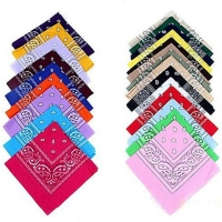 New Hip-hop Cotton Blended Brand Bandanas For Men Women Magic Head Scarf Scarves CC0150