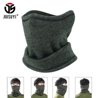 Magic Headband Winter Fleece Neck Warmer Gaiter Half Face Mask Cold Weather Scarf Hood Snowboard Bicycle Bandana Headwear Men