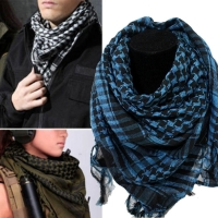 High Quality Arab Shemagh Keffiyeh Military Tactical Palestine Scarf for Men Shawl Kafiya Wrap Shemagh Scarf Fashion Scarves