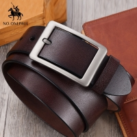 NO.ONEPAUL Men belt High Quality cow genuine leather luxury strap male belts for men new fashion classice vintage pin buckle