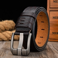 [LFMB]belt male leather belt men strap male genuine leather luxury pin buckle belts for men belt Cummerbunds ceinture homme