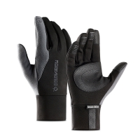 Mens Unisex Leather Gloves Touch Screen Thinsulate Lined Driving Warm Gloves Winter Keep Warm Mittens Male
