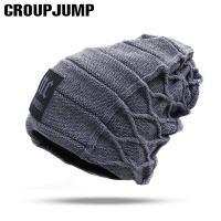 2019 Stylish Skullies Beanies Winter Men Hat Thick Warm Winter Men Hat Thick Caps Beanies Cap Winter Men's Hats toucas gorros