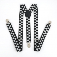New Y Shape Elastic Clip-on Suspenders 3 Clip Pants Braces Adjustable Elasticated Adult Suspender Straps Unisex Women Men