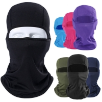 2019 New Outdoor Face Mask Motorcycle Full Face Mask Balaclava Ski Neck Protection Windproof Sun Protection Mask 8Colors Hot
