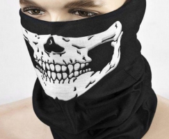 Motorcycle SKULL Ghost Face Windproof Mask Outdoor Sports Warm Ski Caps Bicyle Bike Balaclavas Scarf Birthday Present Skate G