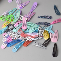 24pcs lot Set Children Snap Hair Clips Barrettes Girls Cute Hairpins Colorful Headbands for Kids Hairgrips Hair Accessories
