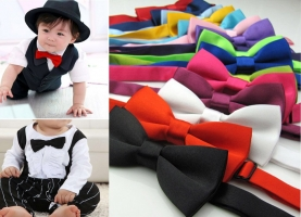Children Fashion Formal Mint Bow Tie Kid Boy Classical  Bowties Colorful Butterfly Wedding Party Pet Bowtie Tuxedo Ties  Cravate
