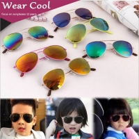 Wear Cool 2019 Fashion Brand Kids Sunglasses Anti-uv Baby Sun-shading Eyeglasses Girl Boy Classic Retro Cute Pilot Sun glasses