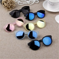 Ywjanp 2018 Fashion Brand Kids Sunglasses Black Children's sunglasses Anti-uv Baby Sun-shading Eyeglasses Girl Boy glasses UV400
