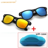 LongKeeper New Hot Kids Sunglasses Boys Baby Sunglasses Girls Children Glasses Sun Glasses For Boys Gafas De Sol With Case Gift