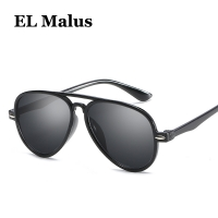 [EL Malus]Cute Small Pilot Frame Sunglasses Children Kids Silver Black Lens Mirror Fashion Child Boys Girls Sun Glasses Oculos