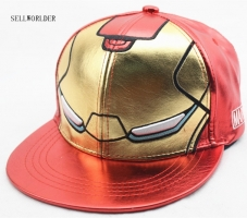SELLWORLDER 3Style Kids & Adults Size Ironman Avengers Baseball Caps 2018 Iron Man Cartoon Character Casual Hip-hop Hats & Caps